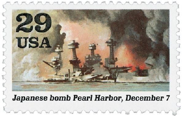 """""""A Date Which Will Live In Infamy"""" - On December 7, 1941, Japanese bombers attacked American troops at Pearl Harbor, catapulting the U.S. into World War II."""