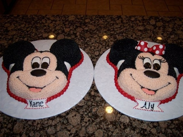 minnie and mickey birthday cake - Bing Images