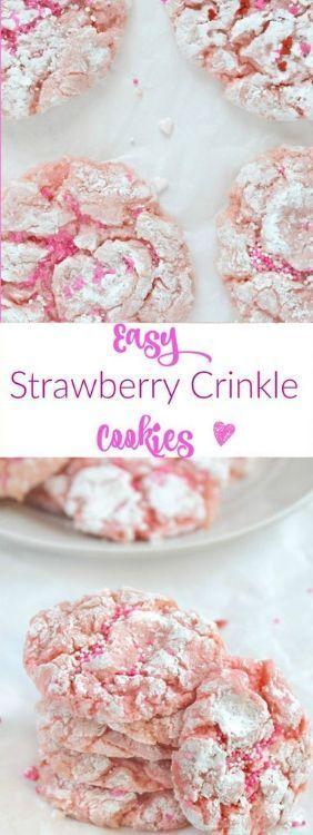 These cookies are so pretty and the ingredients were a complete surprise! These …