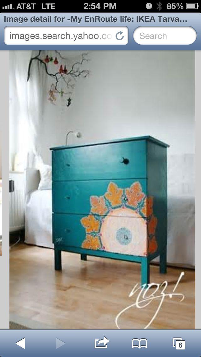 DYI Ikea dresser ideas | DIY projects | Pinterest