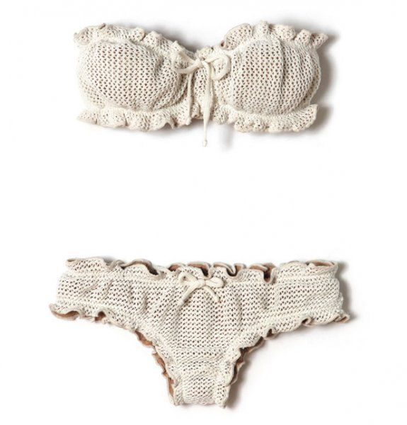 bikini crochet Galeries Lafayete