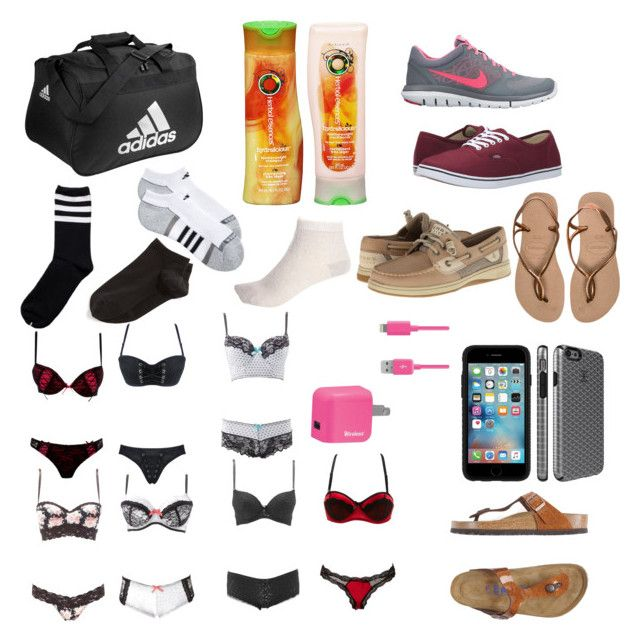 """""""Cabin vacation 2"""" by rebekah987 ❤ liked on Polyvore featuring adidas, NIKE, Vans, Wolford, Havaianas, Sperry, River Island, Speck, Charlotte Russe and Birkenstock"""
