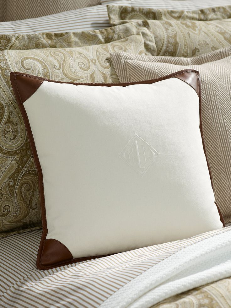{inspired} DIY Upcycled pillow made from Leather+cashmere sweater