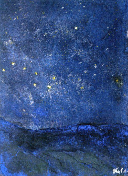Emil Nolde - Starry Sky, 1938-45