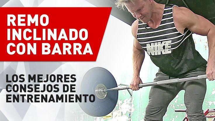 Remo Inclinado Con Barra - Técnica Perfecta | Prozis TV - YouTube