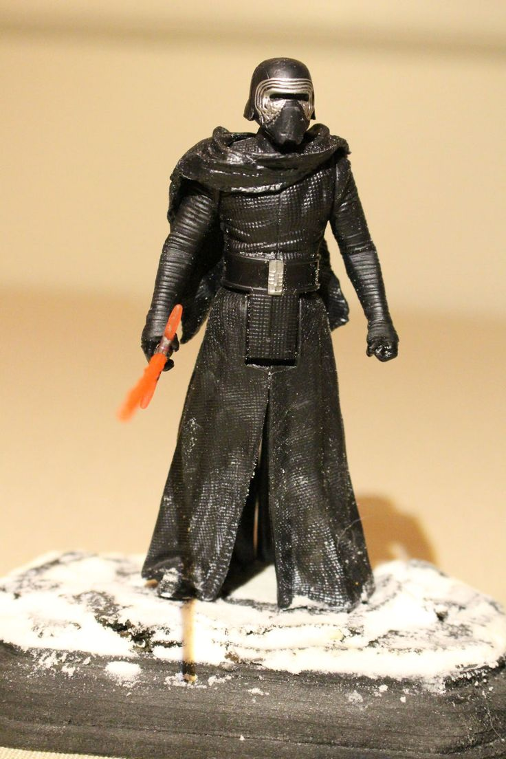 Star Wars Kylo Ren Figure by TinyInhabitants on Etsy