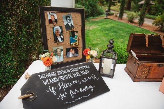 honoring loved ones at a wedding / http://www.deerpearlflowers.com/ways-to-honor-deceased-loved-ones-at-your-wedding/