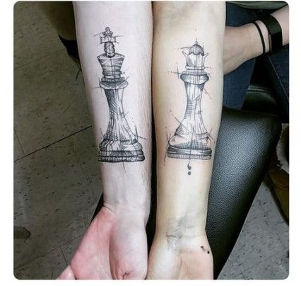 65 Ideas Tattoo Ideas For Couples King Queen Life Chess Piece Tattoo Chess Tattoo Tattoos Before you even get to the shop you feel. 65 ideas tattoo ideas for couples king