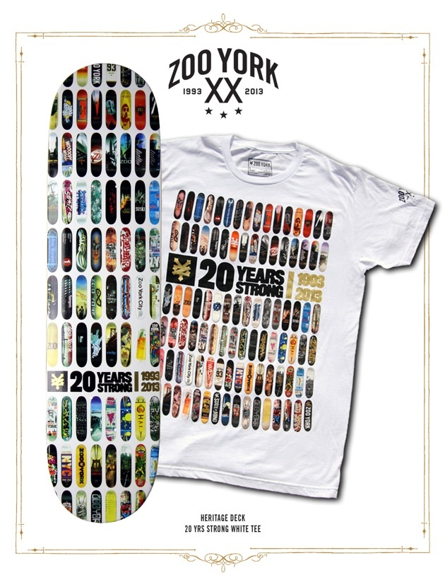 Zoo York – Collection «20 Years Strong »