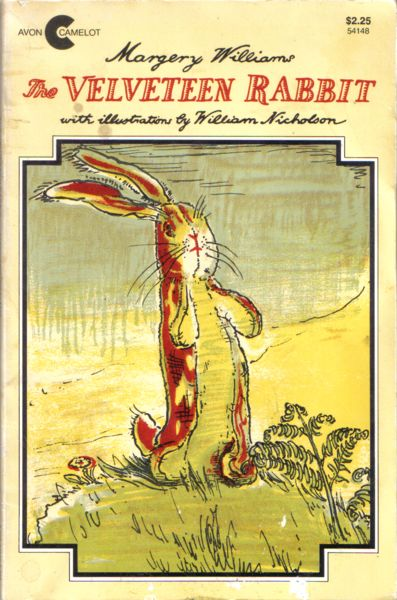 The Velveteen Rabbit. My favorite childhood book.  I still have my copy