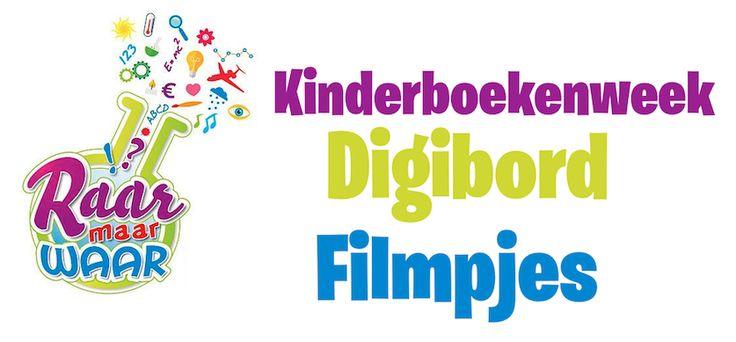 Kinderboekenweek 2015 Digibord Filmpjes!