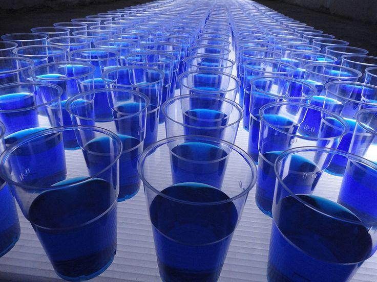 Bologna water design, 2013 - glasses #Cersaie #ceramics
