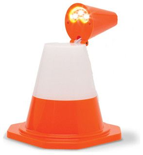 If you're hopelessly bumping into things at night, fear not! The Cone Light was made for such situations. Allow its LED glow to safely guide you through the