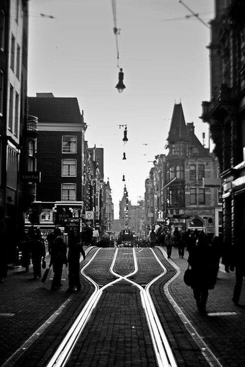 Amsterdam Rails by Jinna van Ringen, via 500px