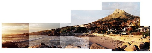 glen beach collage landscape