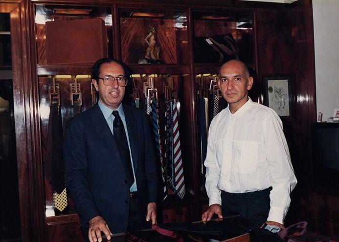 Gianni Battistoni & Ben Kingsley