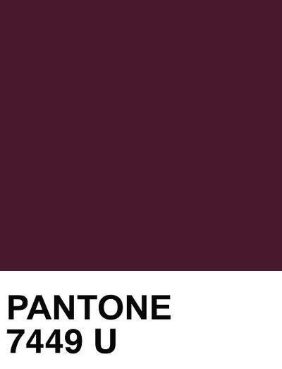 Pantone 7449 U PLUM