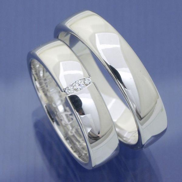 Hochzeitsringe Weissgold P3064413