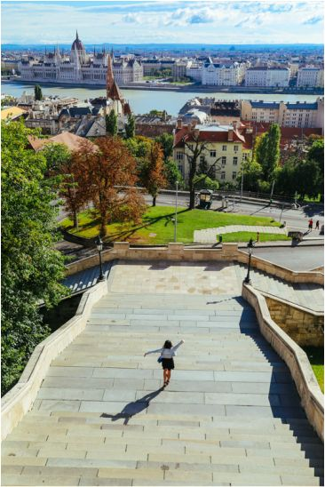 A view of Budapest from Fisherman's Bastion