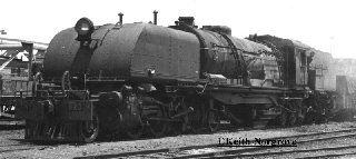 Rhodesia Railways 16A Class, 623(BP 7501/1952) ready to leave Ndola for Kitwe in 1970 after transfer to Zambia Railways