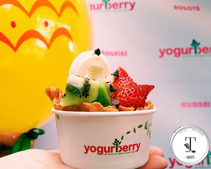 Yogur berry