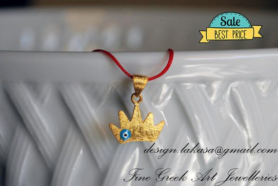 SALE crown necklace sterling silver gold jewelry best gifts ideas for her birthday anniversary newborn baby girl children mom baptism OFFER