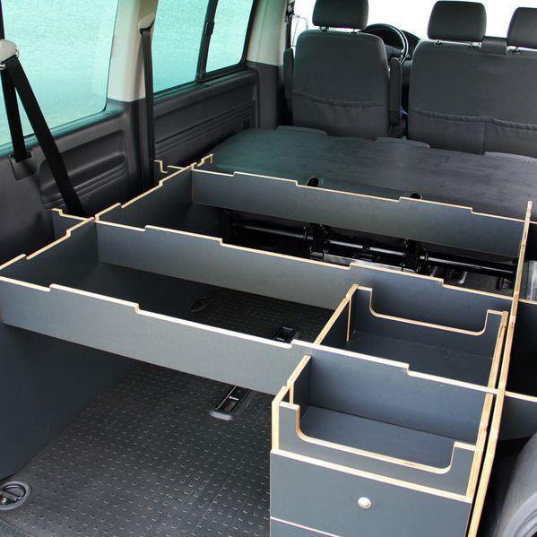 NEU: Unser Stecksystem jetzt auch für den VW T5 & T6 - als VWT 300 Duo (für 2 Personen).