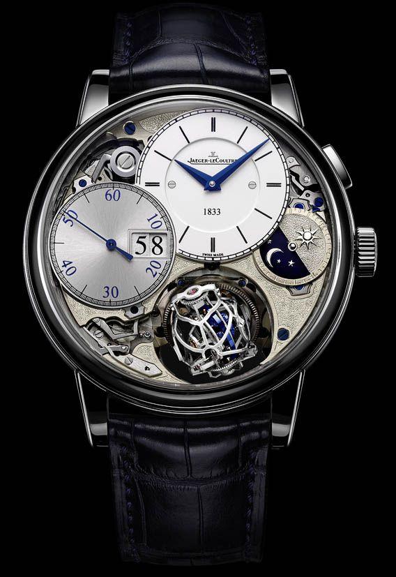 La montre Jaeger-LeCoultre Master Grande Tradition Gyrotourbillon 3 Jubilee