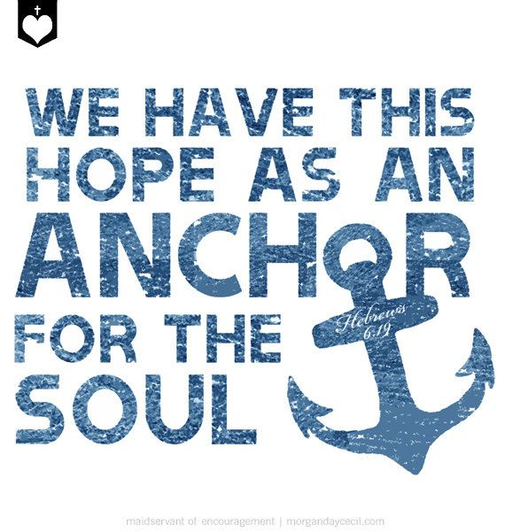 12 Inspirational Quotes For The Soul: Scripture Art Printable, Nautical, Inspirational Quote