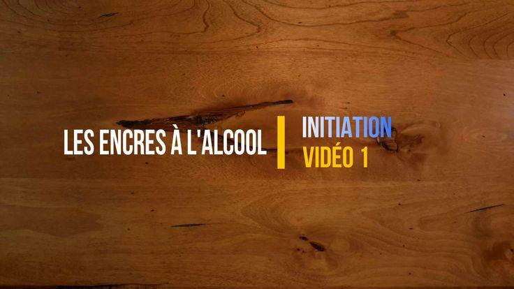 1. Initiation aux encres à l'alcool - Introduction