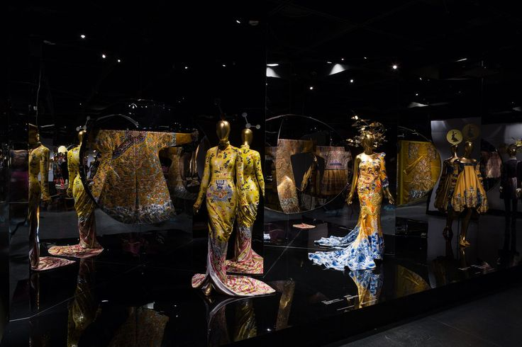 """""""This smart, sensitive exhibition finely balances fantastic fashion confections alongside the global significance of Chinese visual culture that inspired them."""" —Racked on """"China: Through the Looking Glass."""" #ChinaLookingGlass #AsianArt100"""