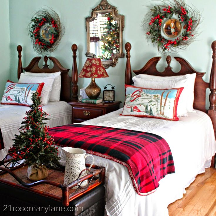 Bedroom Christmas Decorating Ideas best 25+ southern christmas ideas on pinterest | primitive