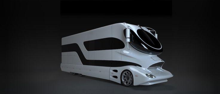 Marchi Mobile dévoile son camping car de luxe EleMMent à découvrir sur The Milliardaire - themilliardaire.com