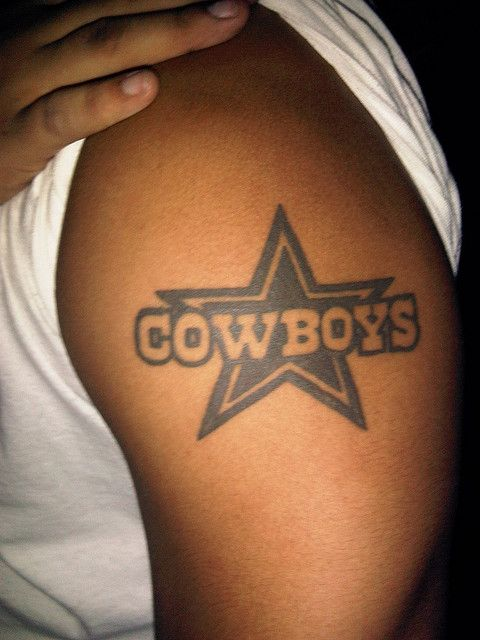 Dallas Cowboy Tattoo | worst tattoo ever. | Flickr - Photo Sharing!