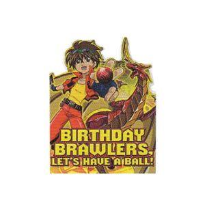 Bakugan Birthday Invitations