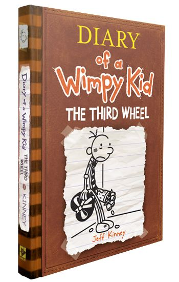 Diary of a Wimpy Kid: The Third Wheel My book goes with Environmental Classic and it deals with Characterization. For anyone likes to read other peoples(Greg Heffleys) diaries. James 7 Book bingo IV Date V/IX/XIV(5/9/14)