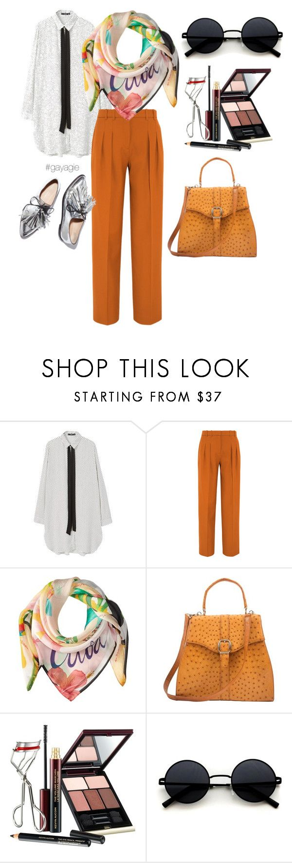 """""""Monday Moodbooster"""" by anggiswastika on Polyvore featuring MANGO, Victoria, Victoria Beckham, Echo Design, Gucci, Kevyn Aucoin and gayagie"""
