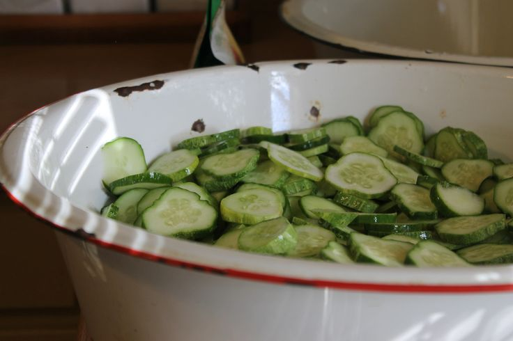 A lesson in making Mrs. Carolyn's crispy lime pickles. A southern summer treat!