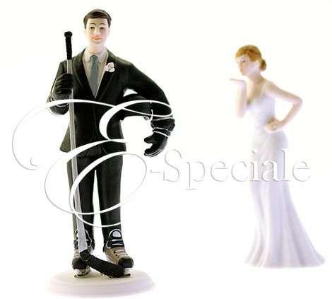 Cake Topper Hockey - Prodotti per Cake Topper - Cake Topper Sportivi - accessori e gadget per matrimoni e feste - E-speciale