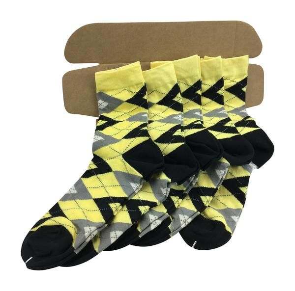 Groomsmen Socks Set - Black and White Striped Socks - Men's Wedding Socks - Groomsmen Gift - Wedding Party - 6 Pairs sDY2iD3Rk