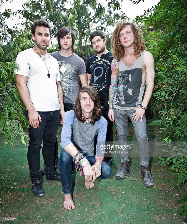 Mayday Parade Portrait Session At Le Glazart Photos and ...