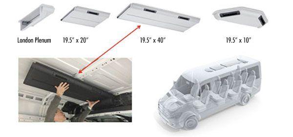 Mercedes Benz Sprinter Rear Cargo Hvac For Heating Cooling Projetos