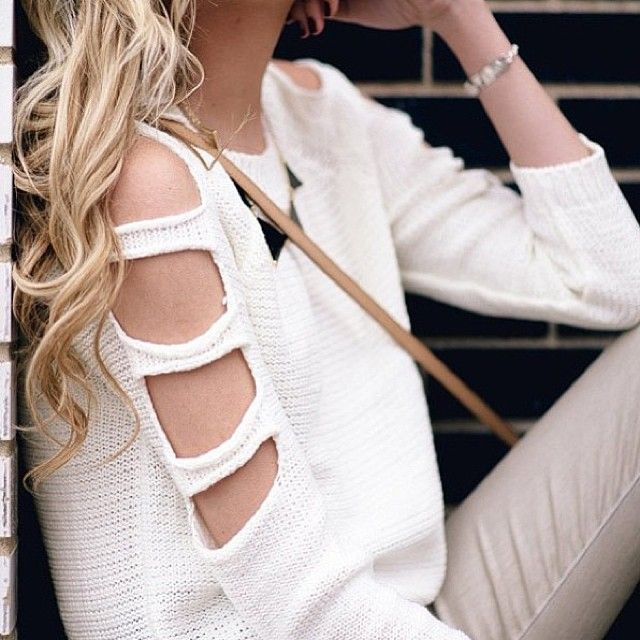 knit sweater #sweaters #tops