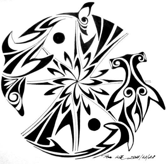 Tattoo Sun Maori: 49 Best Maori Tattoos Tribal Sun Images On Pinterest