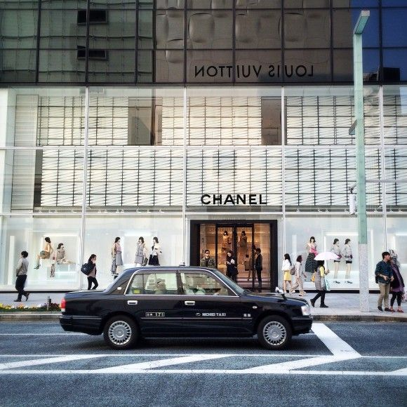 Chanel store, Ginza, Tokyo, Japan