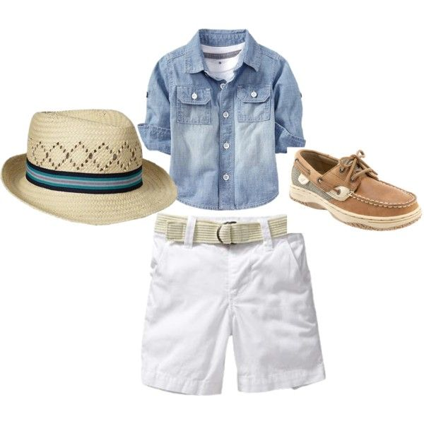 """toddler boy summer"" by wawa1963 on Polyvore"