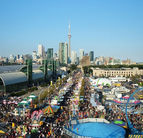 Beautiful Toronto - View Of The Canadian National Exhibition (CNE) Been here a few times too.