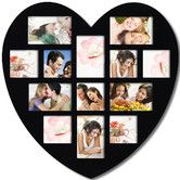 Found it at Wayfair - 13 Opening Heart Collage Picture Frame
