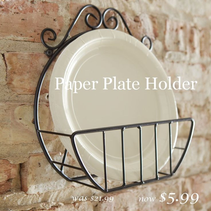 wooden paper plate holder for sale   ... these great buys and more click HERE and look for 3 DAY SUPER SALE