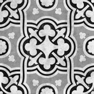 Cementine Contrast Fiori Glazed |   Interceramic USA
